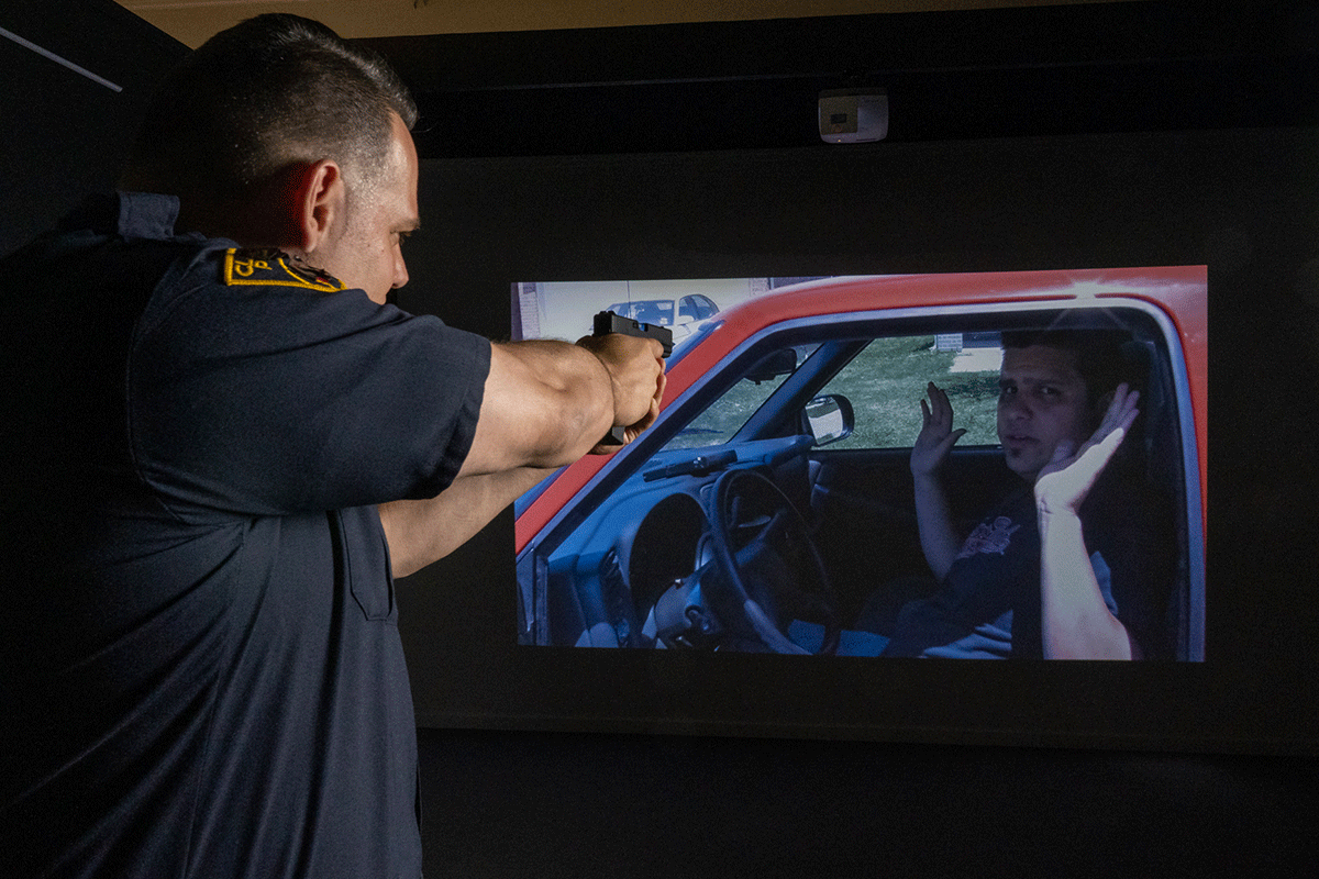 Law enforcement situational training