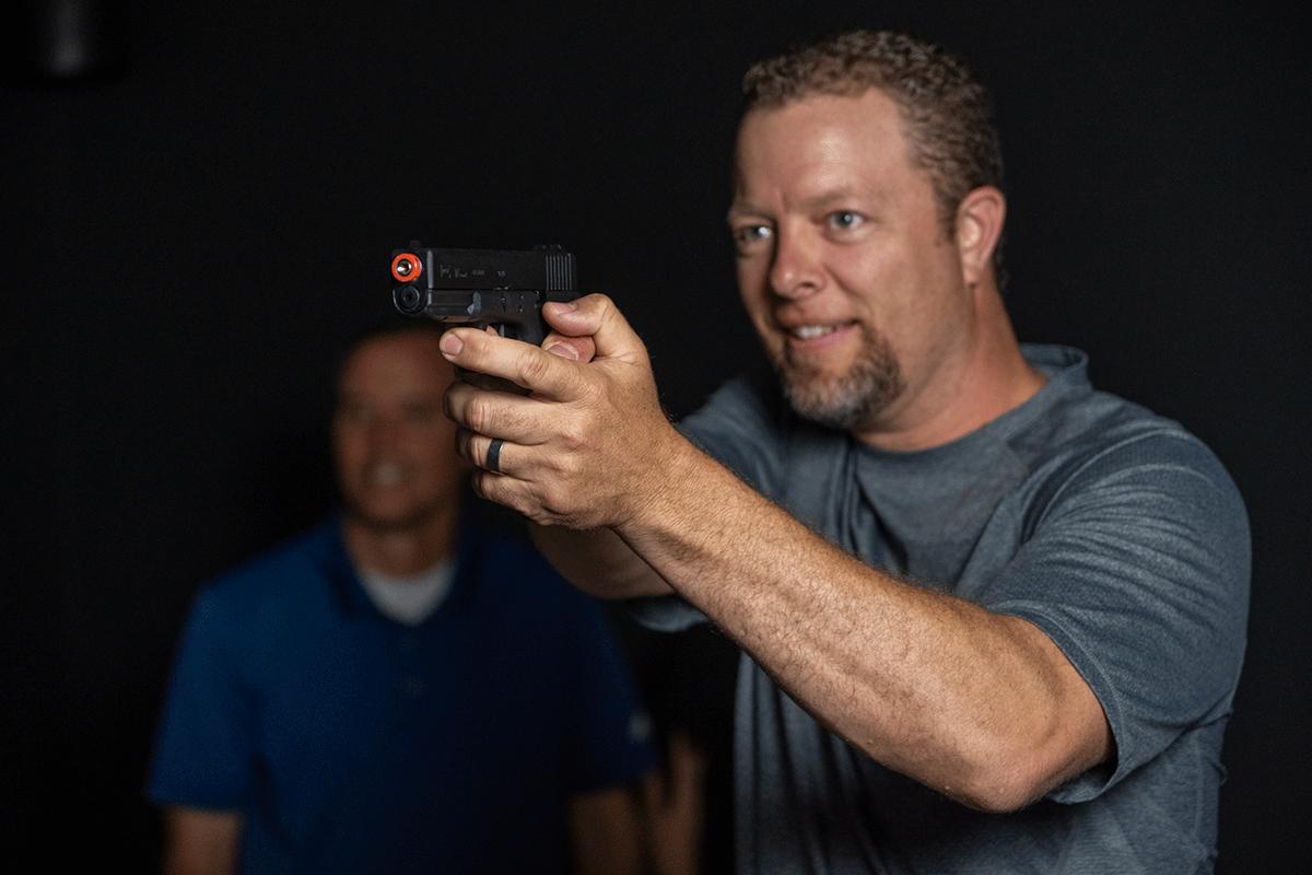 Serious virtual shooting