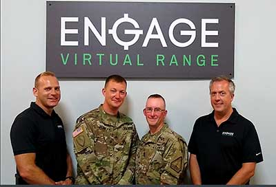 Ohio Army National Guard at Engage Virtual Range